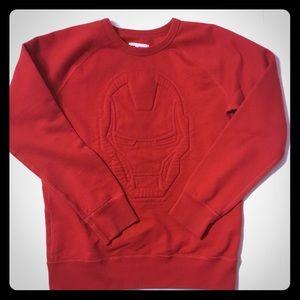 Marvel/Gap Kids collab Red Ironman sweatshirt